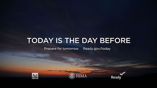 "FEMA - ""THE DAY BEFORE"""
