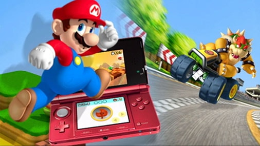 "NINTENDO - ""MARIO WORLD 3DS"" BANNER"