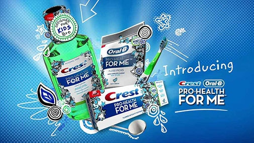 "CREST - ""Pro-Health For Me!"""