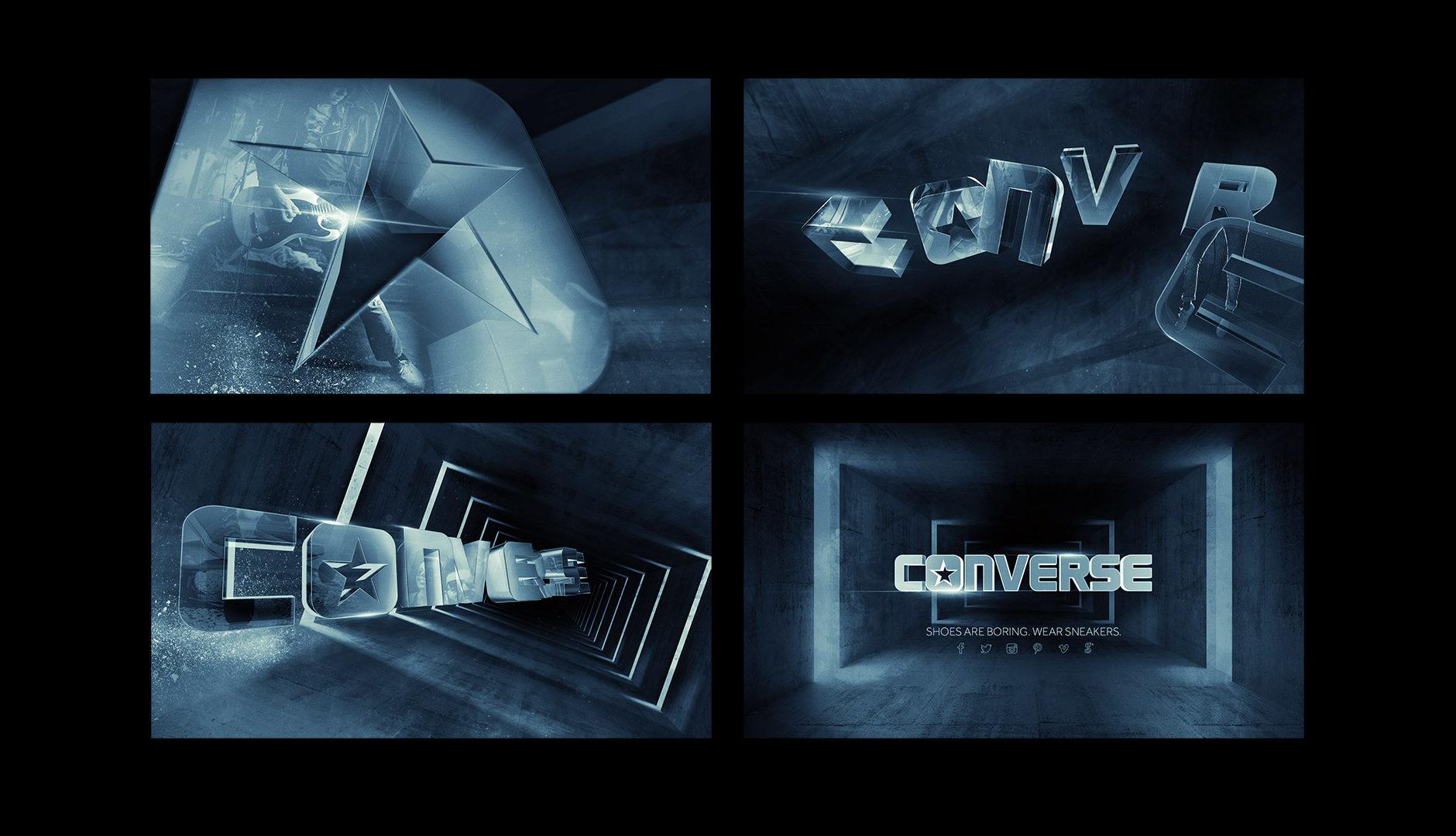 d55f907ed623 Converse – Wear Sneakers Logo Reveal Storyboard
