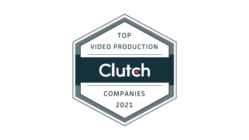 Clutch Top Video Production Companies Award 2021